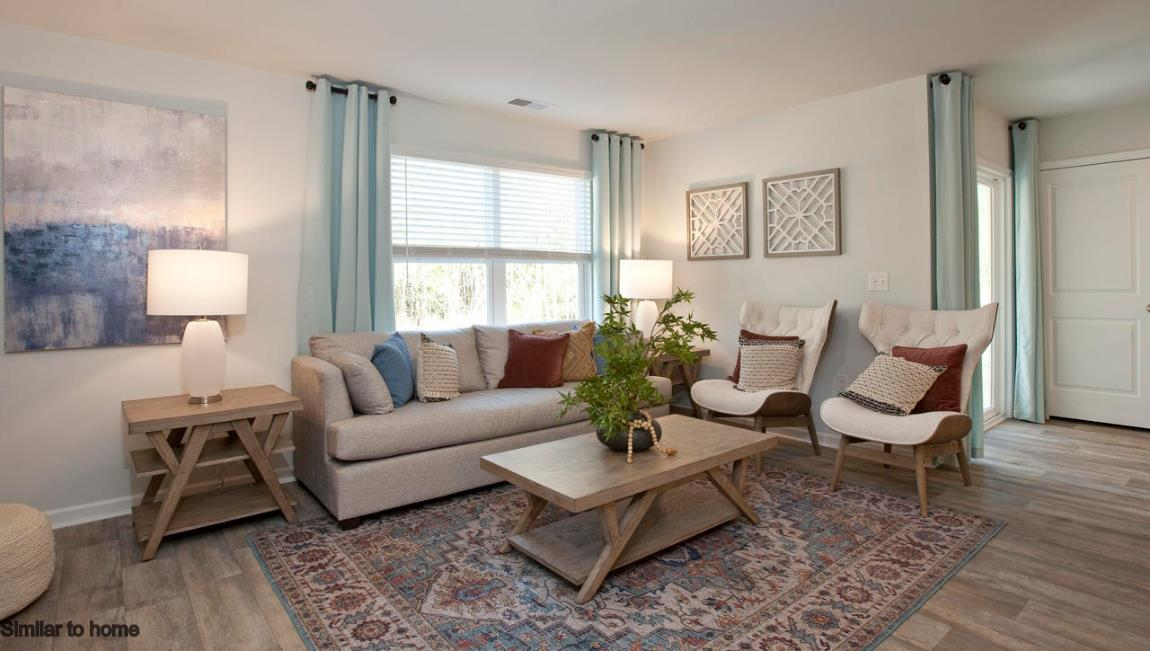 Living Area featured in the Kerry By D.R. Horton in Wilmington, NC