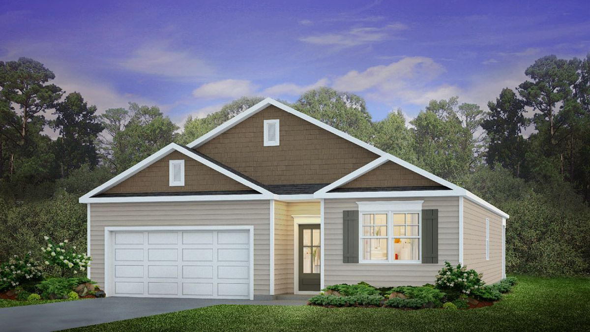 Exterior featured in the CALI By D.R. Horton in Myrtle Beach, SC