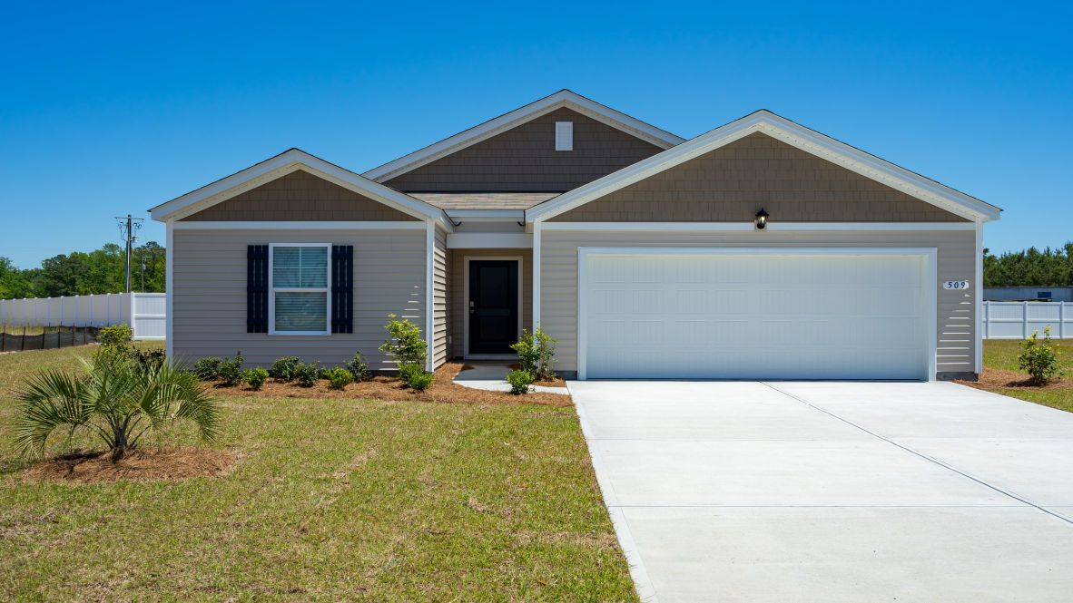 Exterior featured in the MACON By D.R. Horton in Myrtle Beach, SC