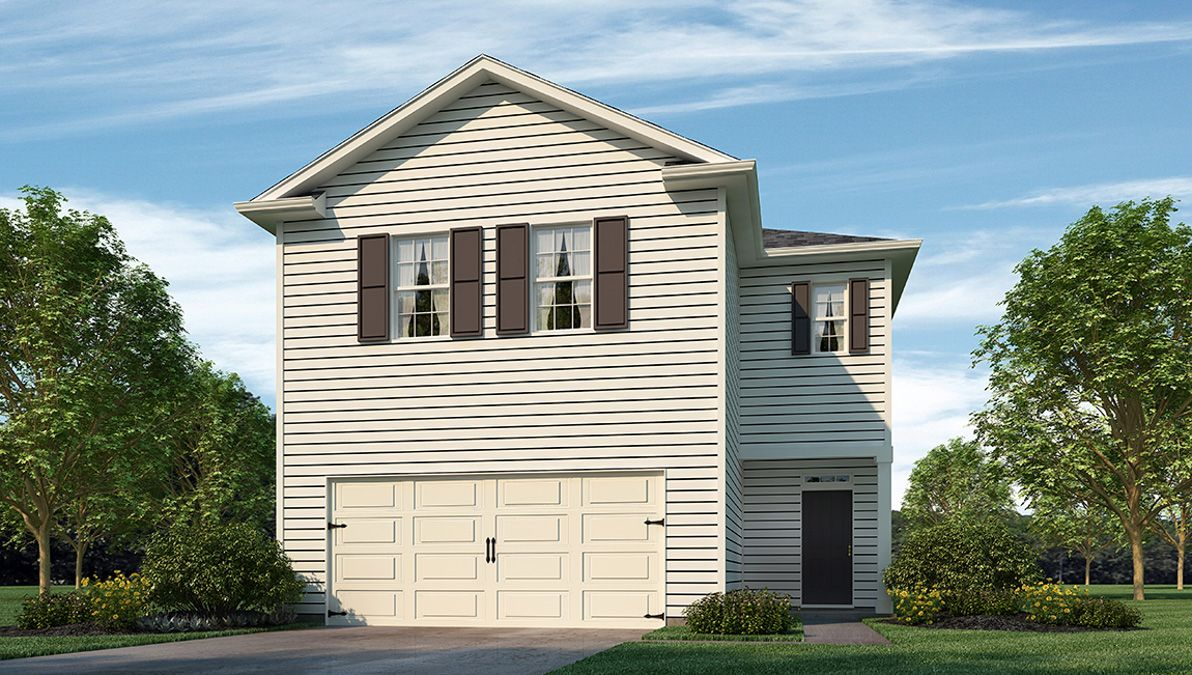 Exterior featured in the ELSTON By D.R. Horton in Myrtle Beach, SC