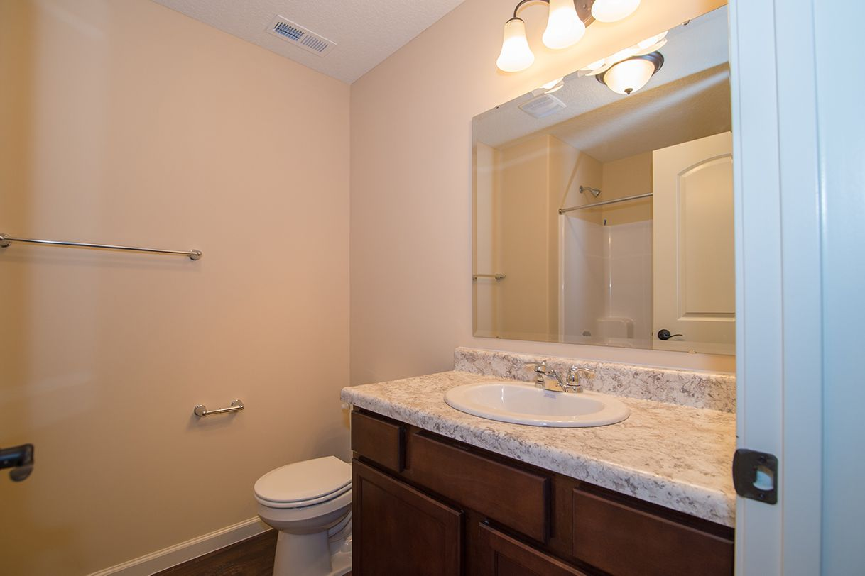 Bathroom featured in the Andover By D.R. Horton in Fort Wayne, IN