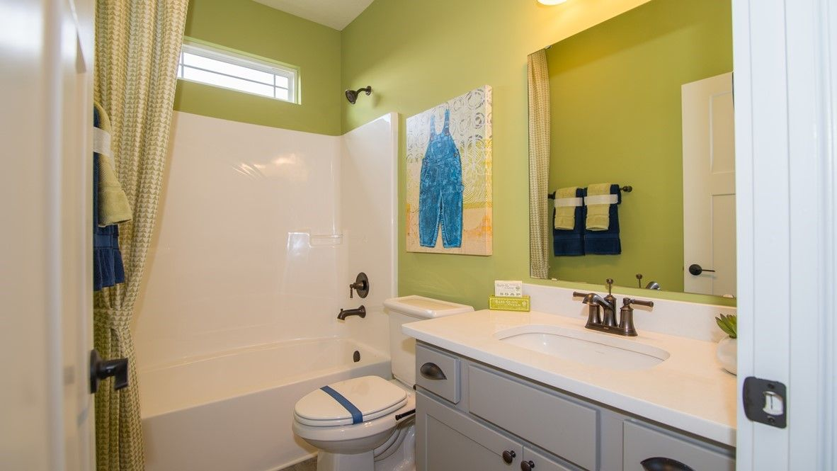 Bathroom featured in the Grandover II By D.R. Horton in Fort Wayne, IN