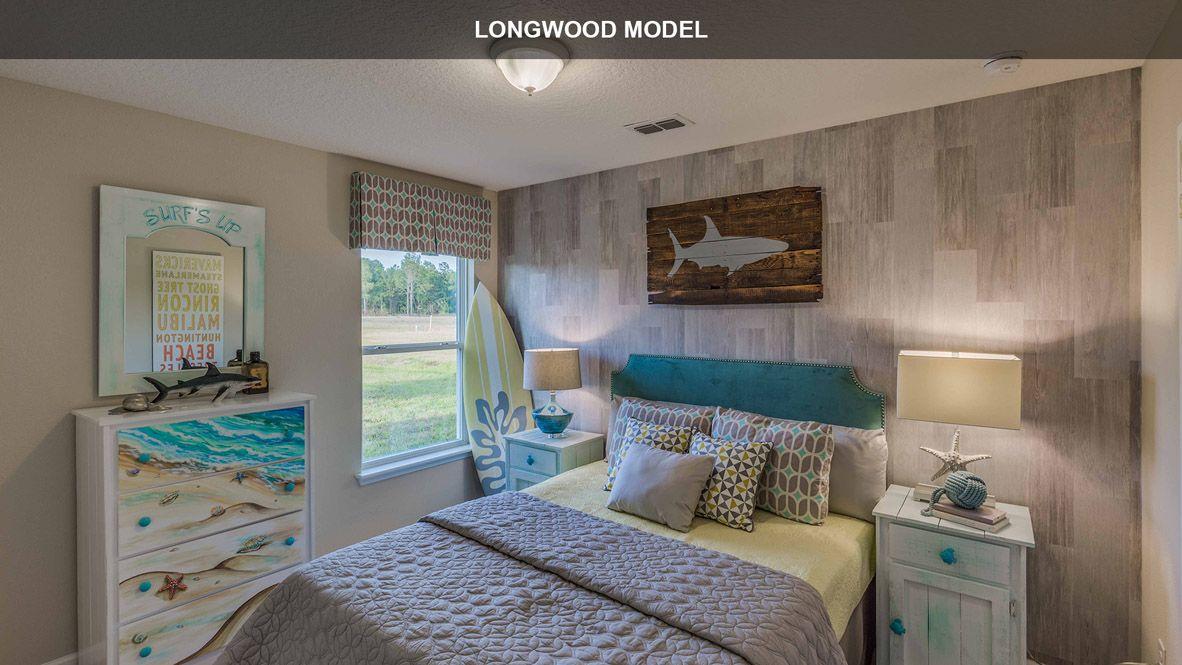 Bedroom featured in the LONGWOOD By D.R. Horton in Daytona Beach, FL