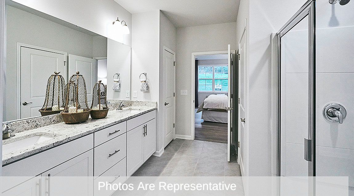 Bathroom featured in the Clifton By D.R. Horton in Raleigh-Durham-Chapel Hill, NC