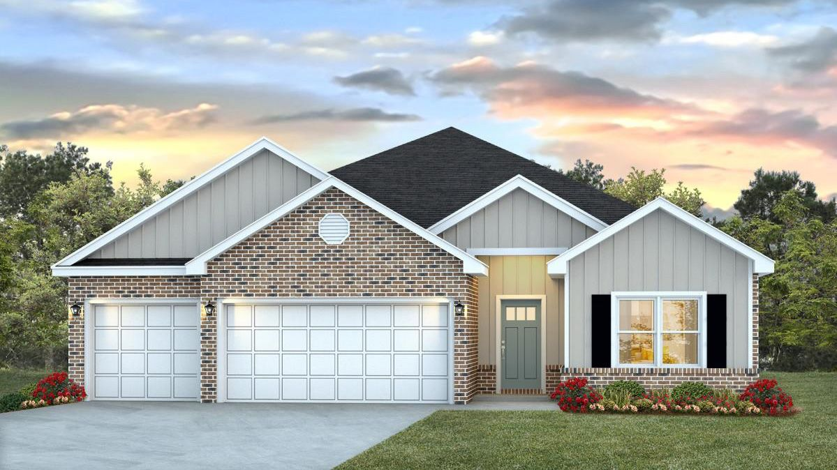 Exterior featured in The Destin By D.R. Horton in Biloxi, MS