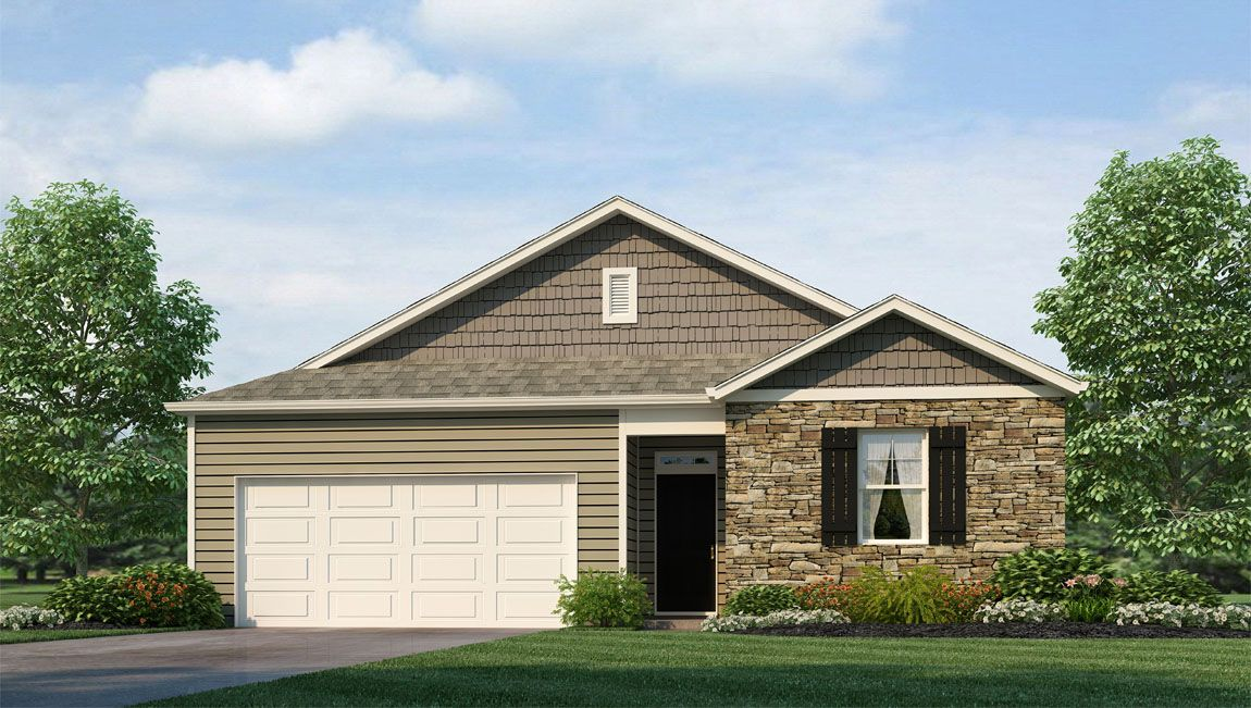 Exterior featured in the KERRY By D.R. Horton in Jacksonville, NC