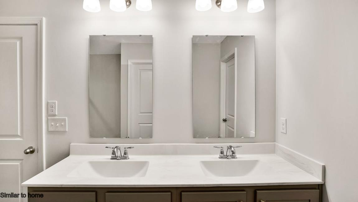 Bathroom featured in the ARDEN By D.R. Horton in Jacksonville, NC
