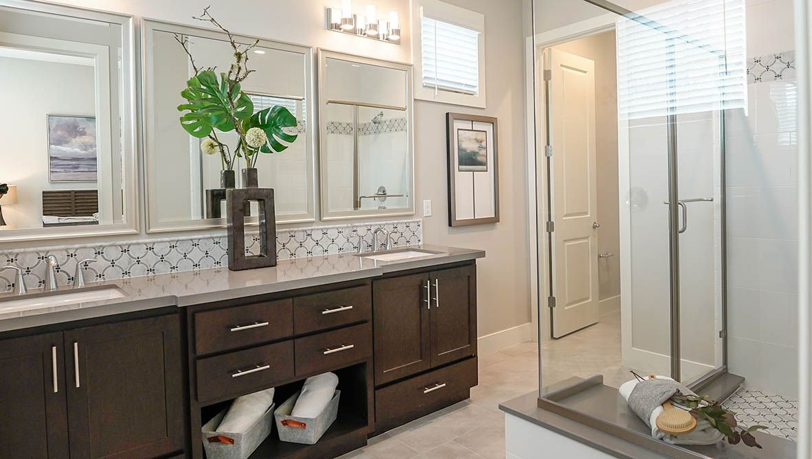 Bathroom featured in the Residence A By D.R. Horton in San Francisco, CA