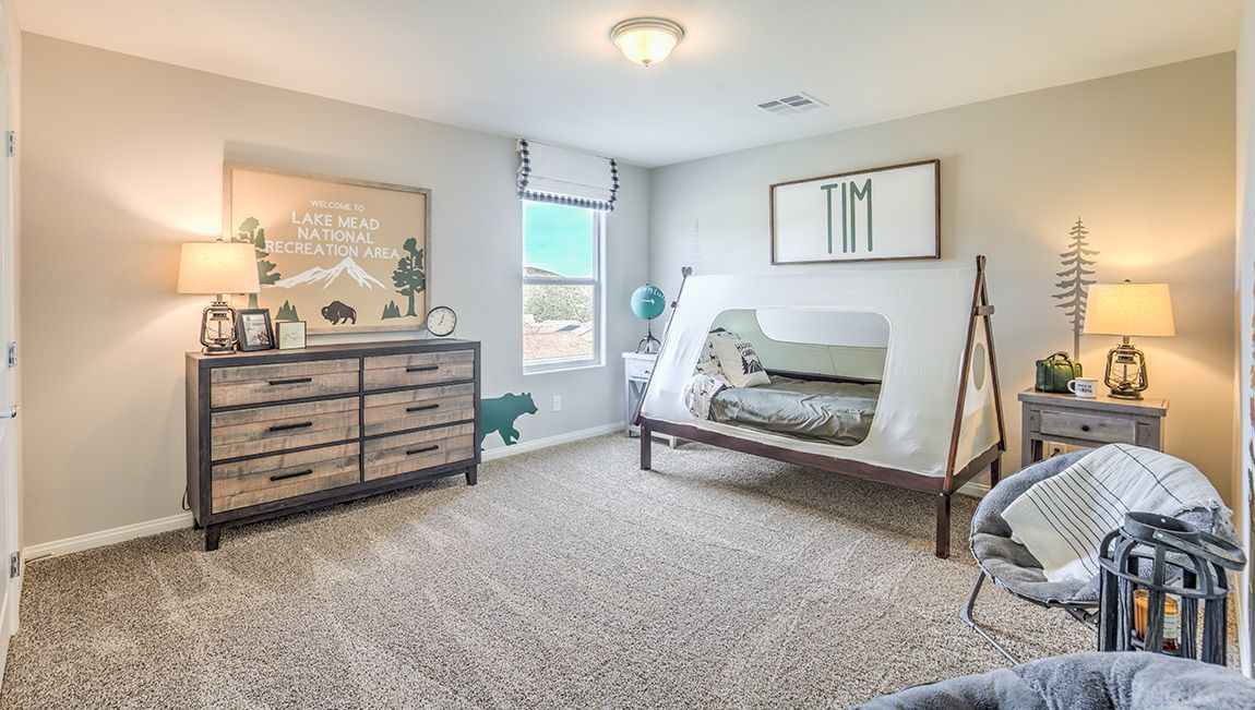 Bedroom featured in the 3328 Plan By D.R. Horton in Las Vegas, NV