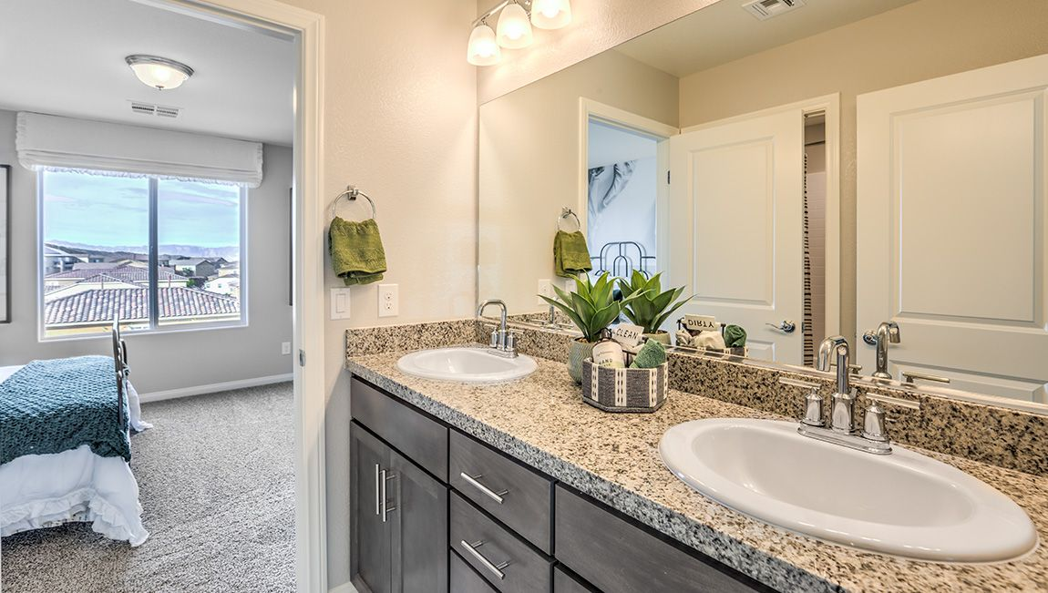 Bathroom featured in the 3328 Plan By D.R. Horton in Las Vegas, NV