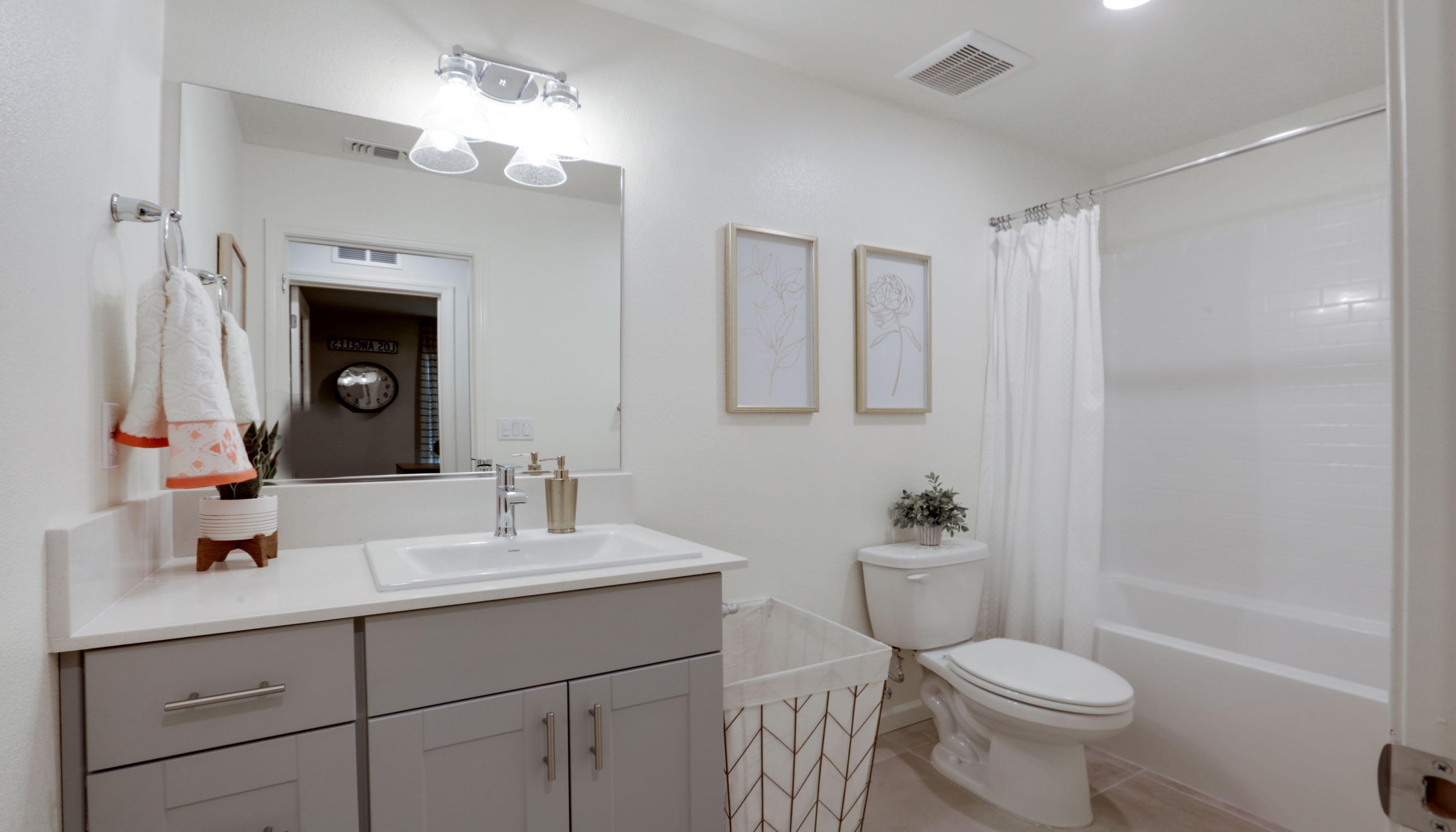 Bathroom featured in the Monroe By D.R. Horton in Visalia, CA