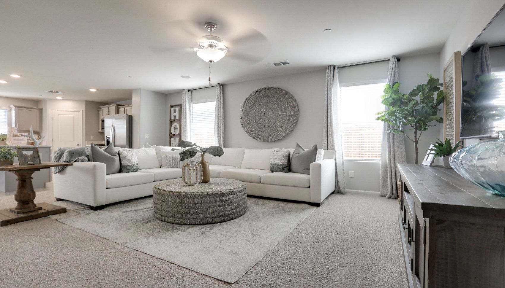Living Area featured in the Coolidge By D.R. Horton in Merced, CA