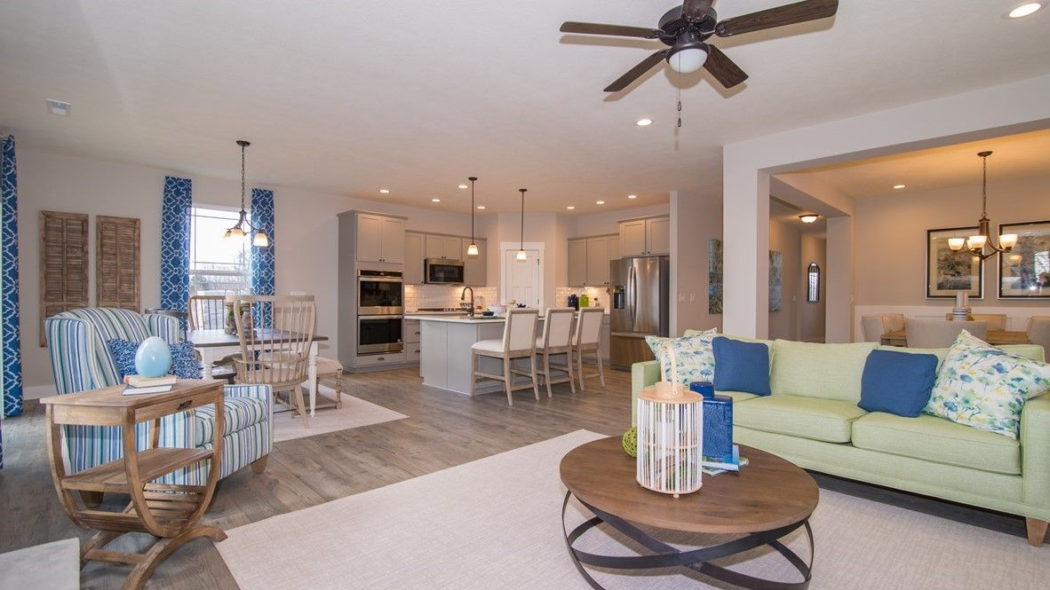 Living Area featured in the Grandover II By D.R. Horton in Fort Wayne, IN