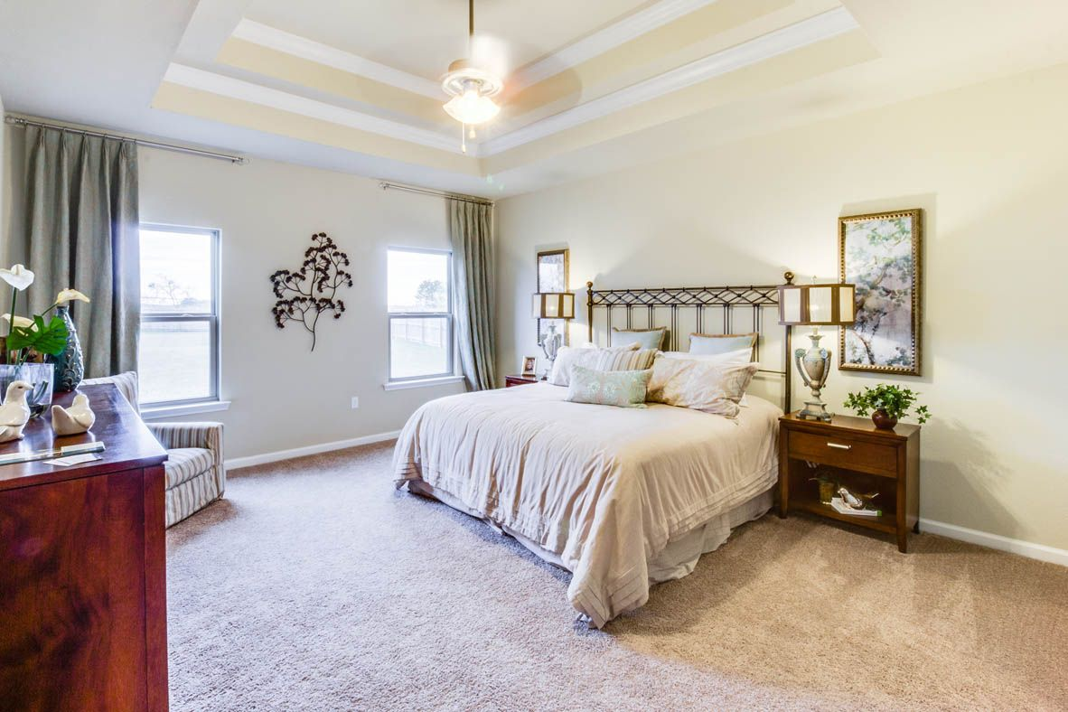 Bedroom featured in The Avery By D.R. Horton in Mobile, AL