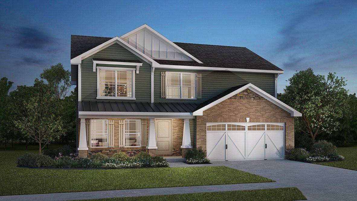 Exterior featured in the Bristol By D.R. Horton in Indianapolis, IN