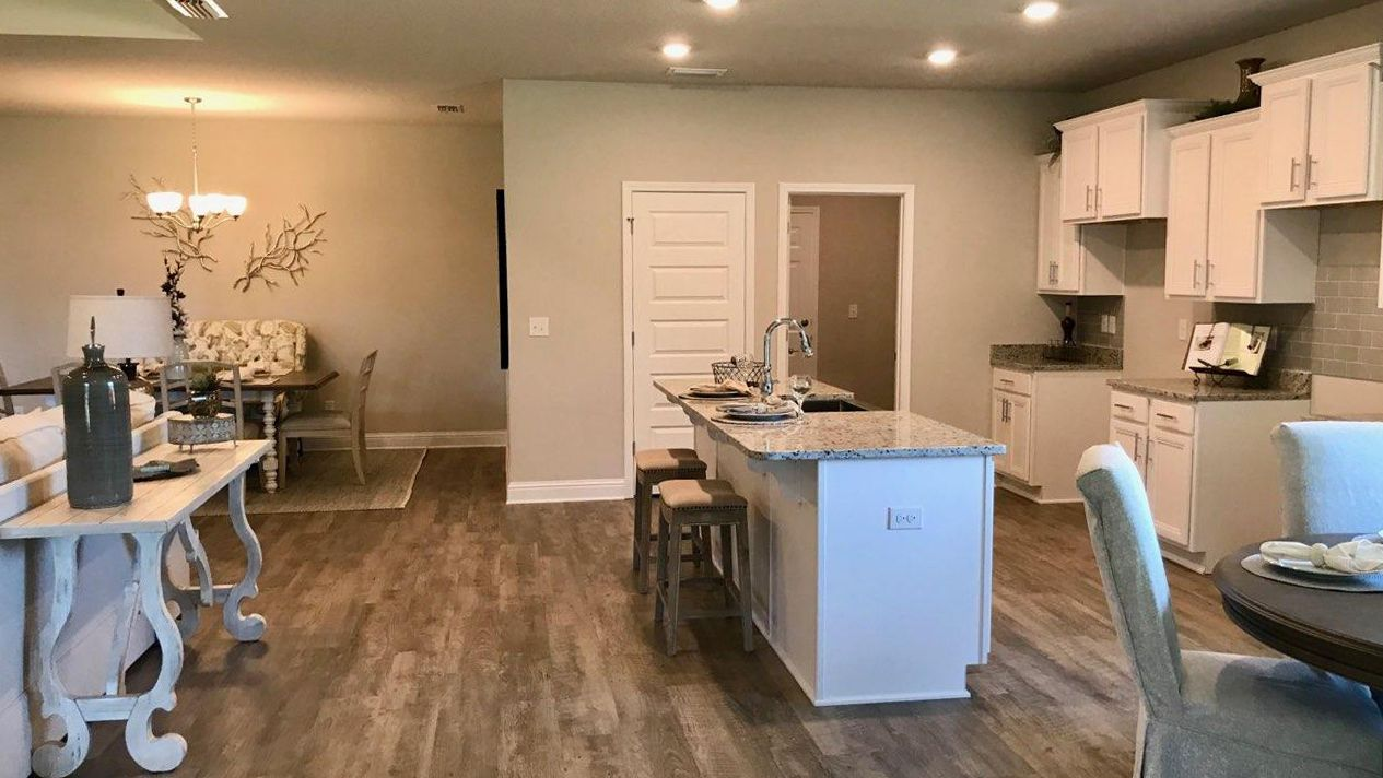 Kitchen featured in The Destin By D.R. Horton in Biloxi, MS