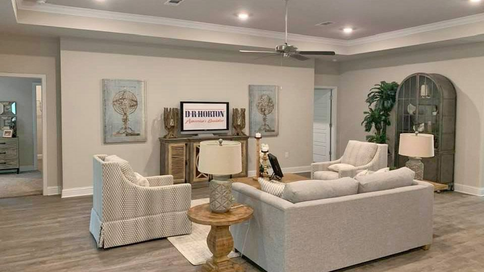 Living Area featured in The Hawthorne By D.R. Horton in Mobile, AL