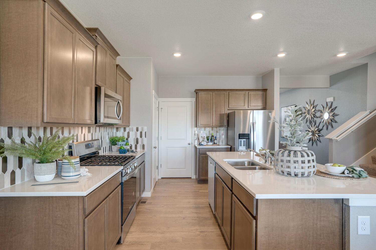 Kitchen featured in the HENLEY By D.R. Horton in Greeley, CO