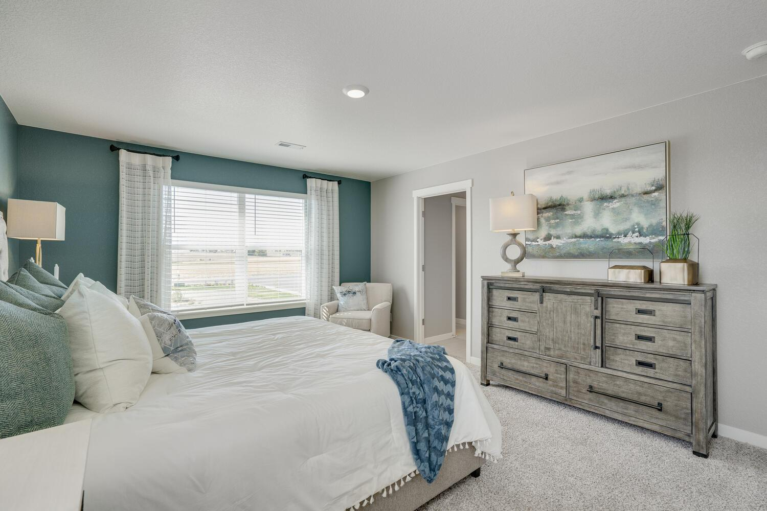 Bedroom featured in the HENLEY By D.R. Horton in Greeley, CO