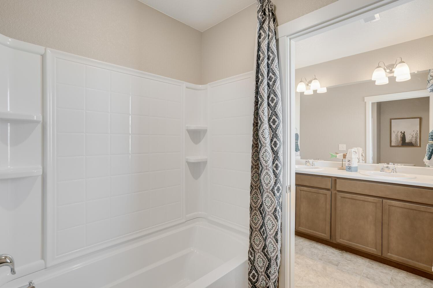 Bathroom featured in the HENLEY By D.R. Horton in Greeley, CO