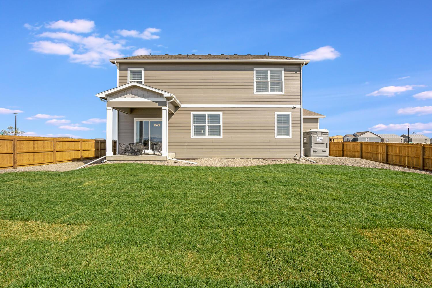 Exterior featured in the HENLEY By D.R. Horton in Greeley, CO