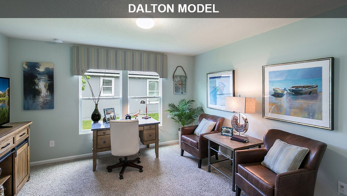 Living Area featured in the Dalton By D.R. Horton in Daytona Beach, FL