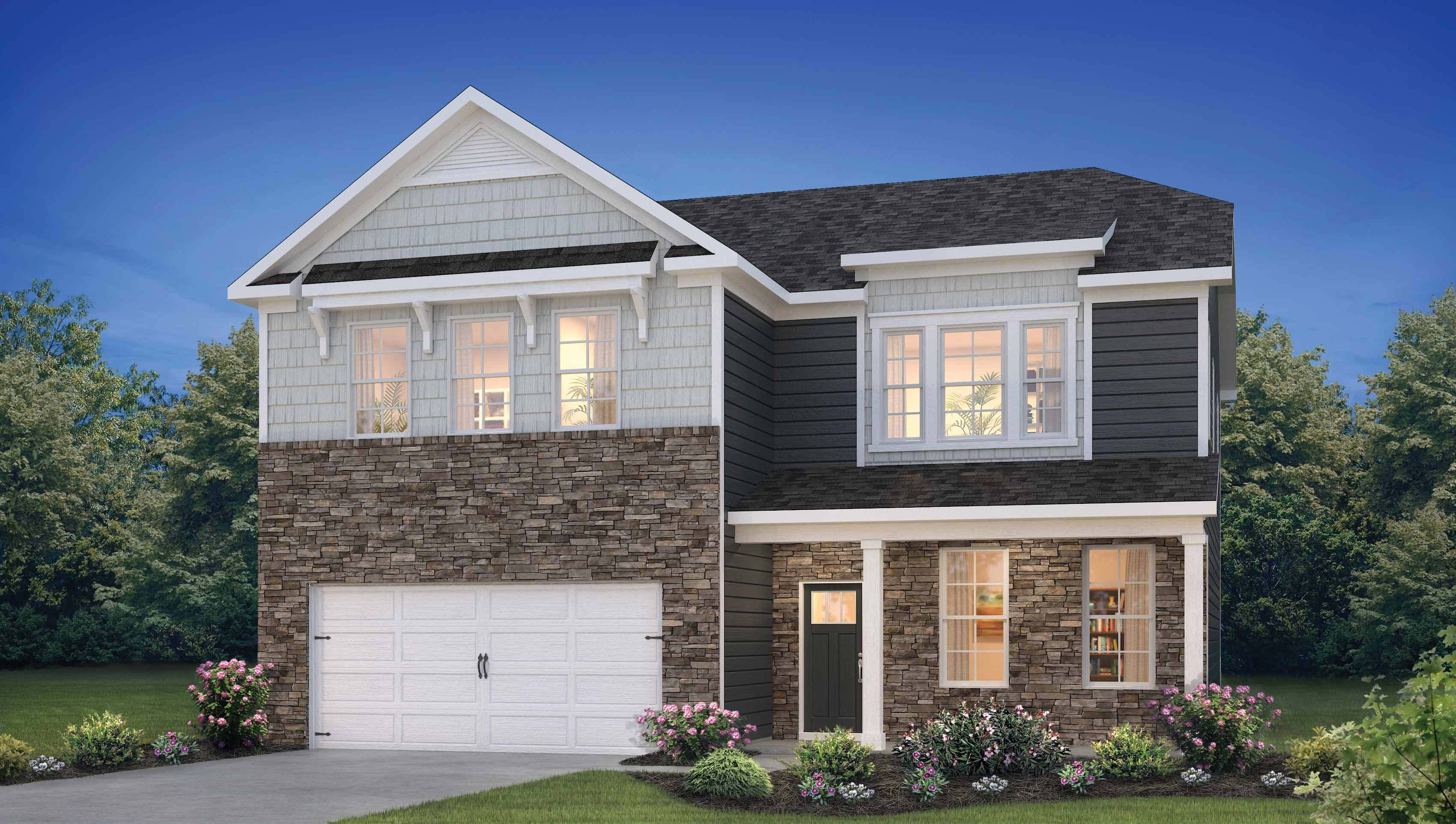 Exterior featured in the Hadley By D.R. Horton in Philadelphia, NJ
