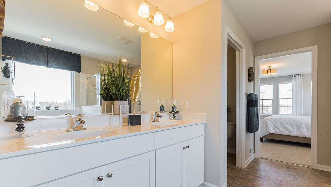 Bathroom featured in the Hadley By D.R. Horton in Philadelphia, NJ