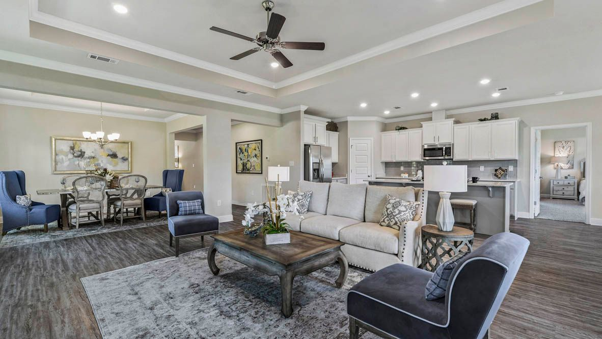 Living Area featured in The Camden By D.R. Horton in Mobile, AL