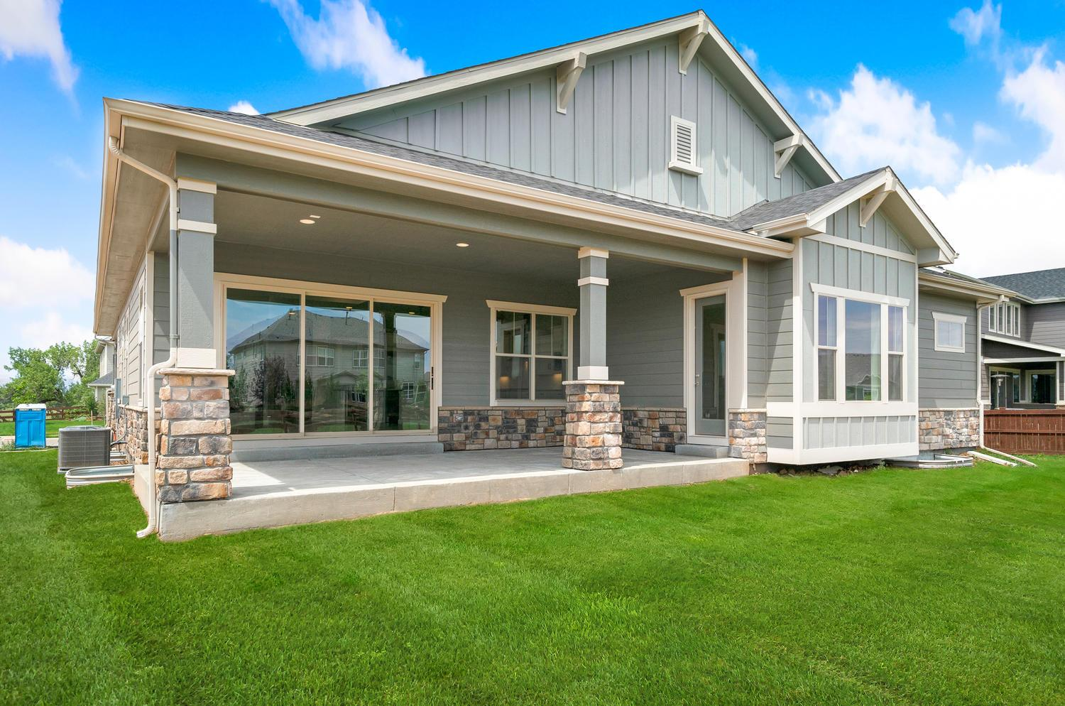 Exterior featured in the Longs Peak By D.R. Horton in Fort Collins-Loveland, CO