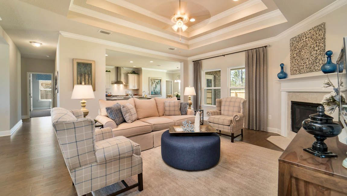 Living Area featured in The Avery By D.R. Horton in Mobile, AL