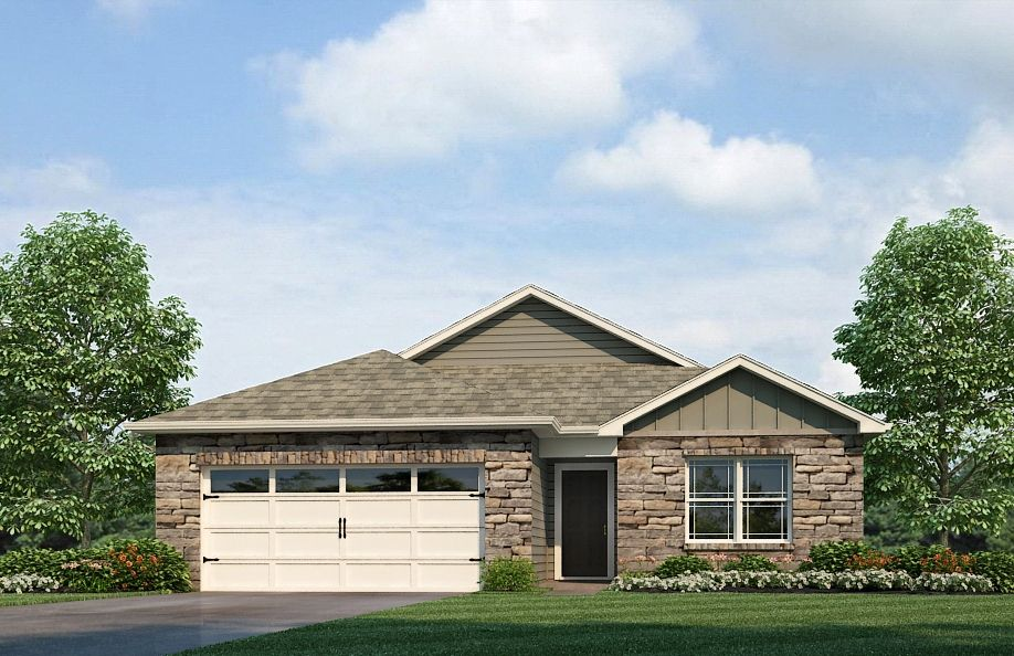 Exterior featured in the Harmony By D.R. Horton in Fort Wayne, IN