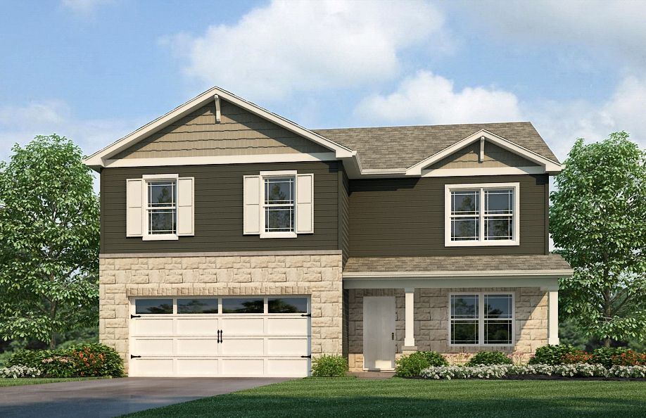 Exterior featured in the Henley By D.R. Horton in Fort Wayne, IN
