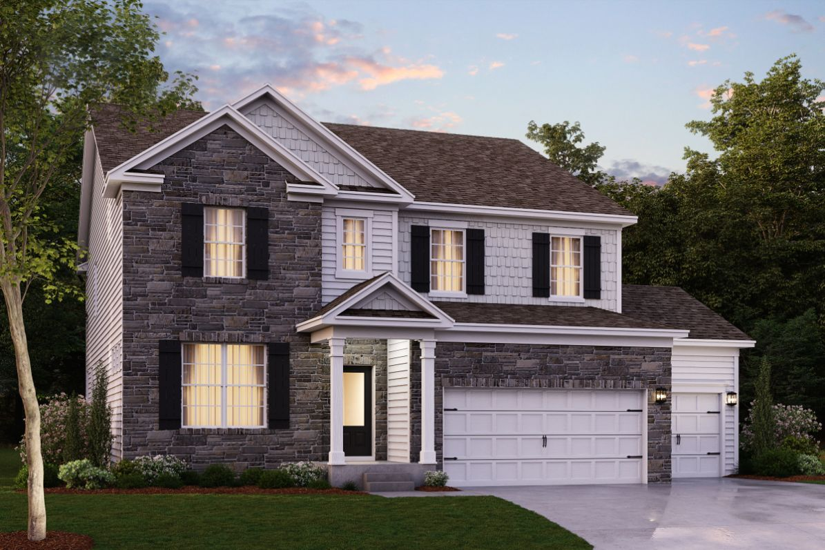 Exterior featured in The Hampshire By D.R. Horton in Baltimore, MD