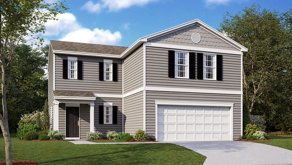 Exterior featured in the Deerfield By D.R. Horton in Cumberland County, NJ