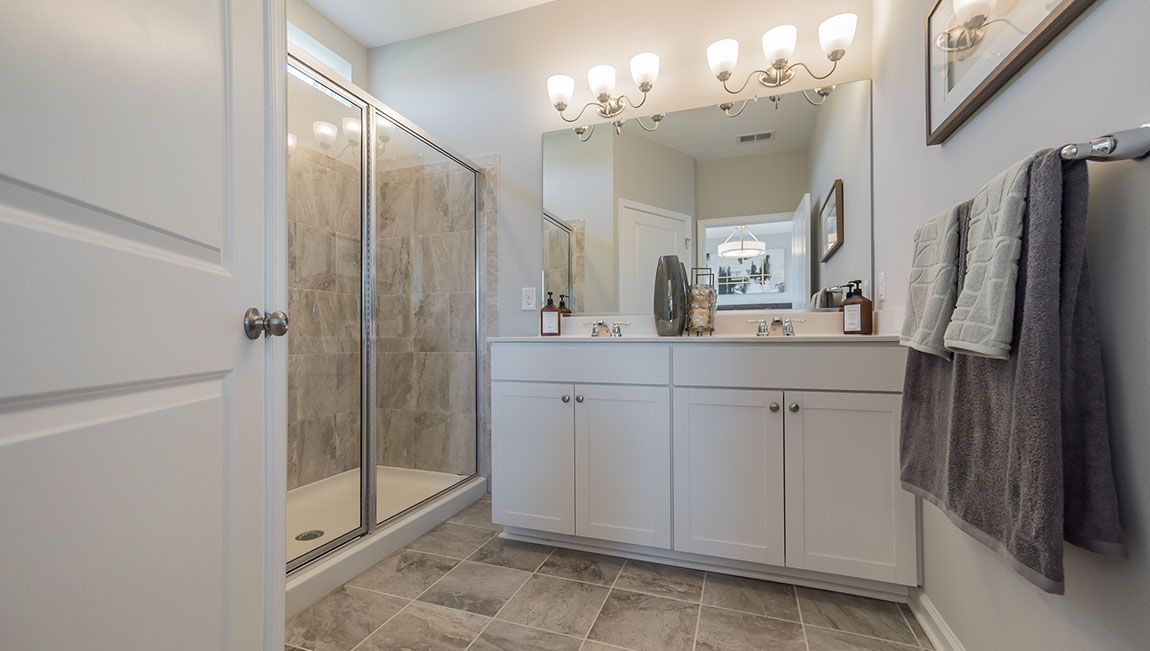 Bathroom featured in the Auburn By D.R. Horton in Philadelphia, NJ