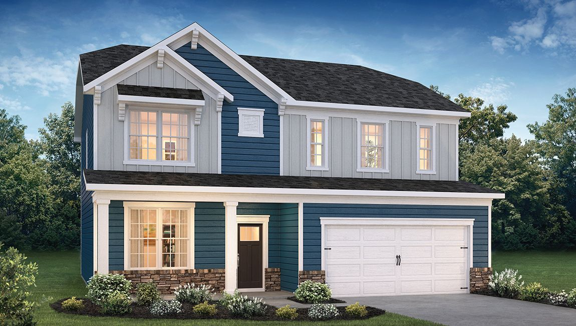 Exterior featured in the Winston By D.R. Horton in Ocean County, NJ