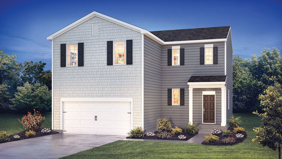Exterior featured in the Durham By D.R. Horton in Atlantic-Cape May, NJ