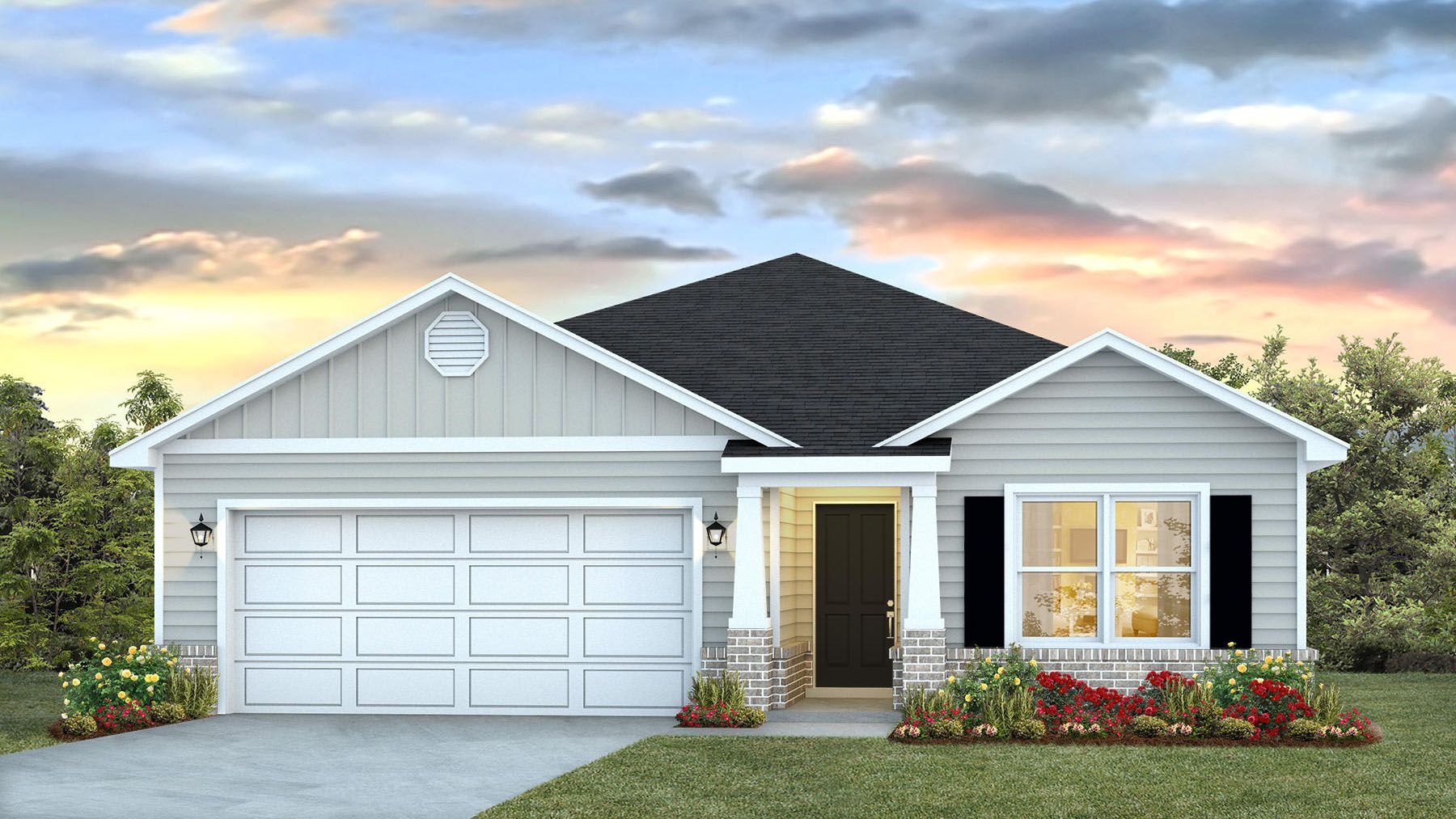 Exterior featured in The Aria By D.R. Horton in Biloxi, MS