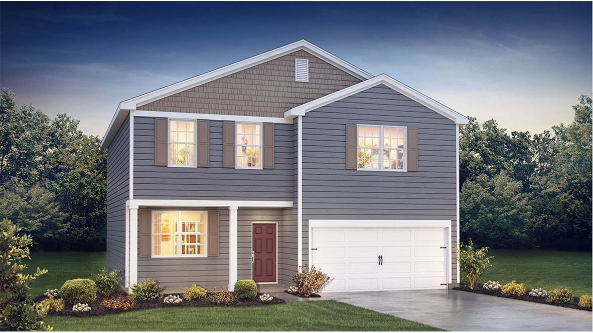 Exterior featured in the Eastover By D.R. Horton in Atlantic-Cape May, NJ