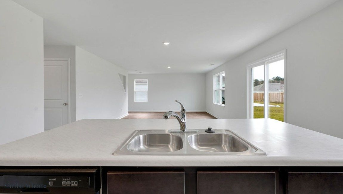 Kitchen featured in the GALEN By D.R. Horton in Wilmington, NC