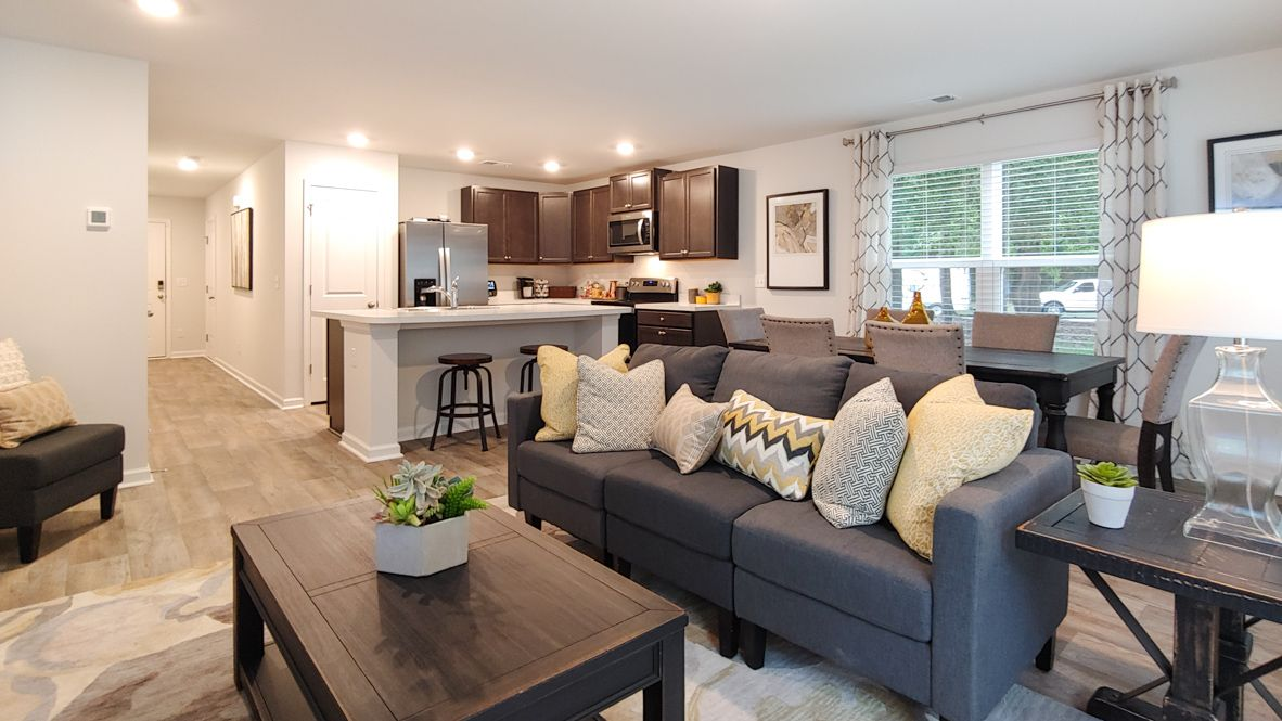 Living Area featured in the Davis By D.R. Horton in Charleston, SC