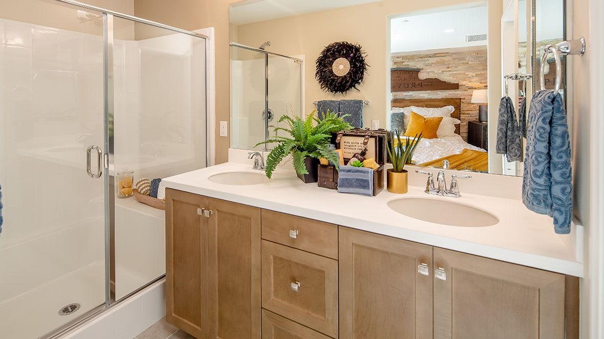 Bathroom featured in the Residence 1726 By D.R. Horton in San Diego, CA