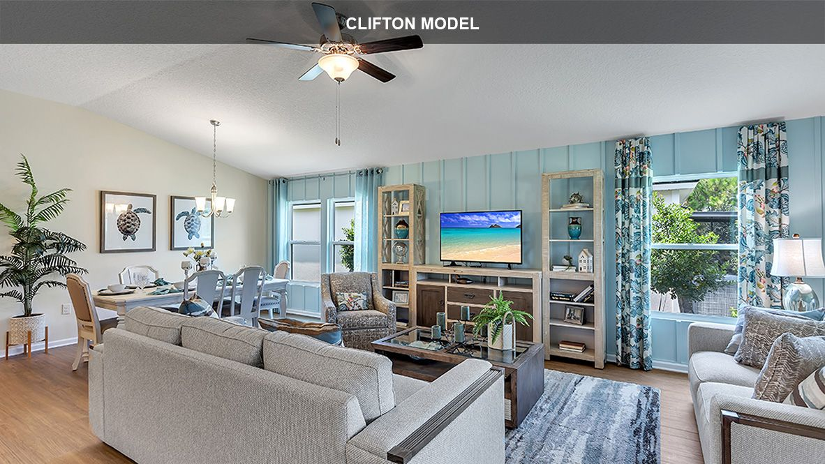 Living Area featured in the Clifton By D.R. Horton in Jacksonville-St. Augustine, FL