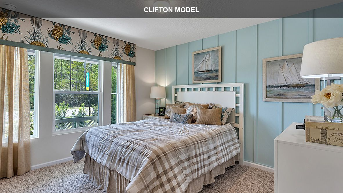 Bedroom featured in the Clifton By D.R. Horton in Jacksonville-St. Augustine, FL