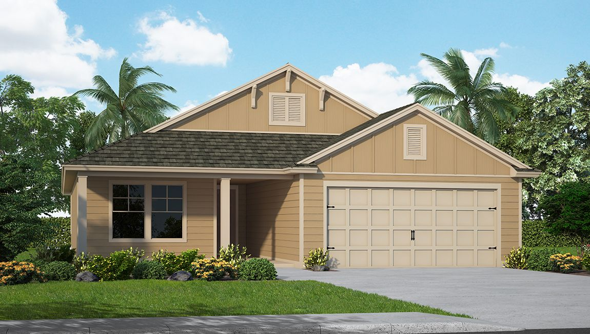 Exterior featured in the Avon By D.R. Horton in Jacksonville-St. Augustine, FL