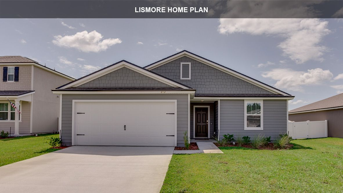Exterior featured in the LISMORE By D.R. Horton in Jacksonville-St. Augustine, FL