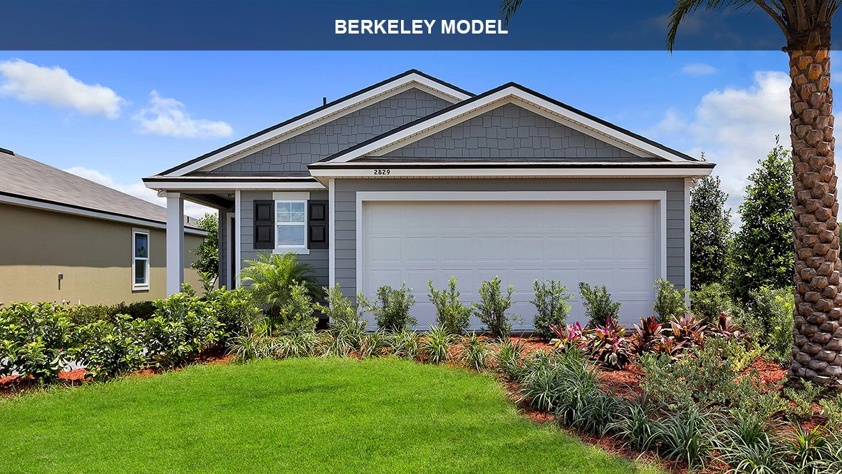 Exterior featured in the BERKELEY By D.R. Horton in Jacksonville-St. Augustine, FL