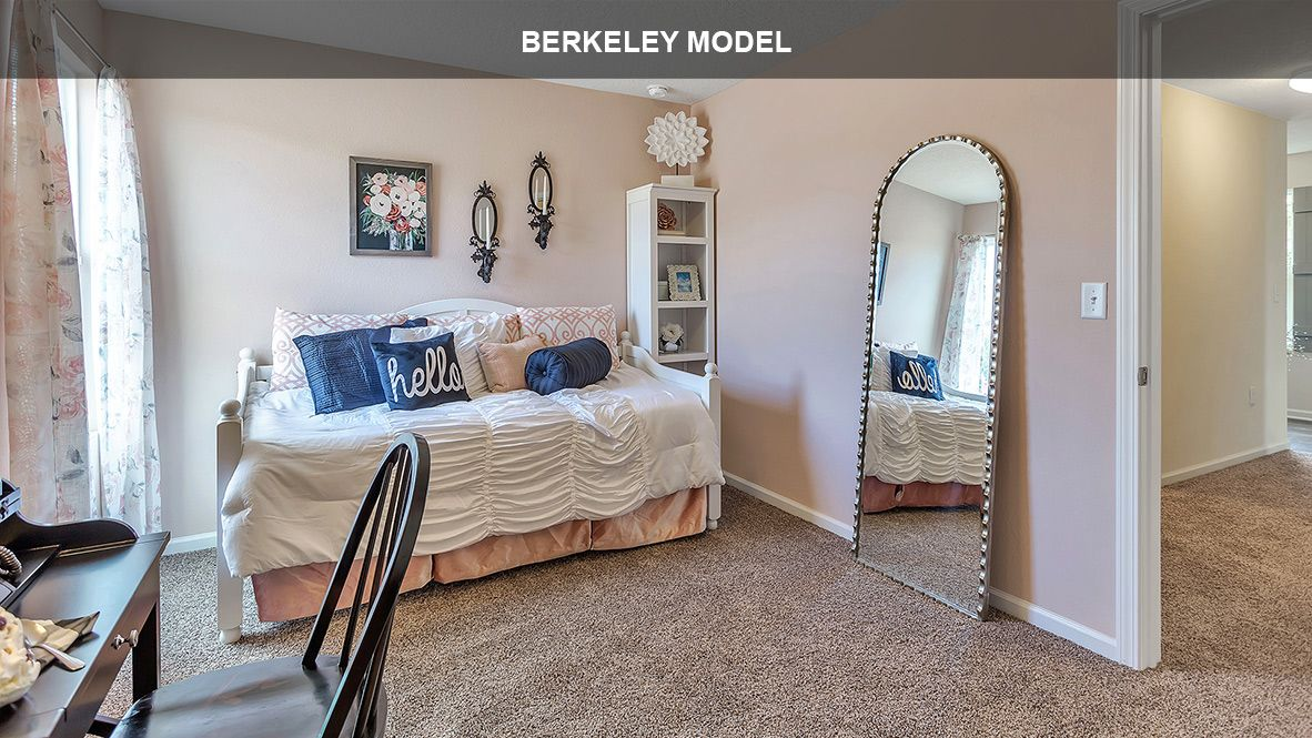 Bedroom featured in the BERKELEY By D.R. Horton in Jacksonville-St. Augustine, FL