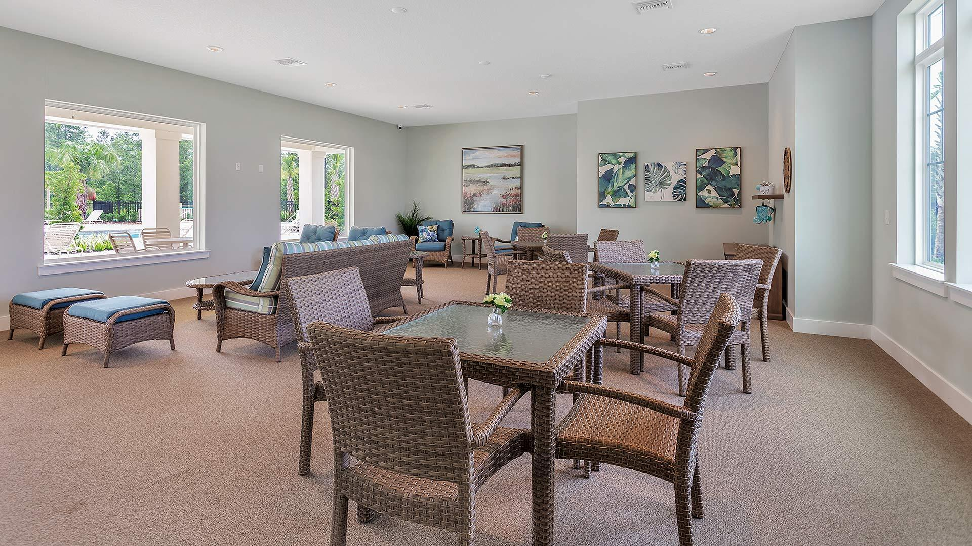 Living Area featured in the BERKELEY By D.R. Horton in Jacksonville-St. Augustine, FL